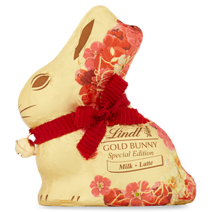 Lindt GOLD BUNNY Milk Flower Mixed 100g - Short Dated Stock*