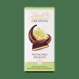 Lindt CREATION Dark Pistachio Bar 150g