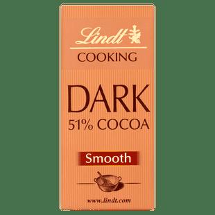 Lindt COOKING 51% Dark Bar 200g