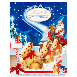 Lindt Advent Calendar Milk 160g