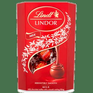 Lindt LINDOR Milk Chocolate Truffles 200g