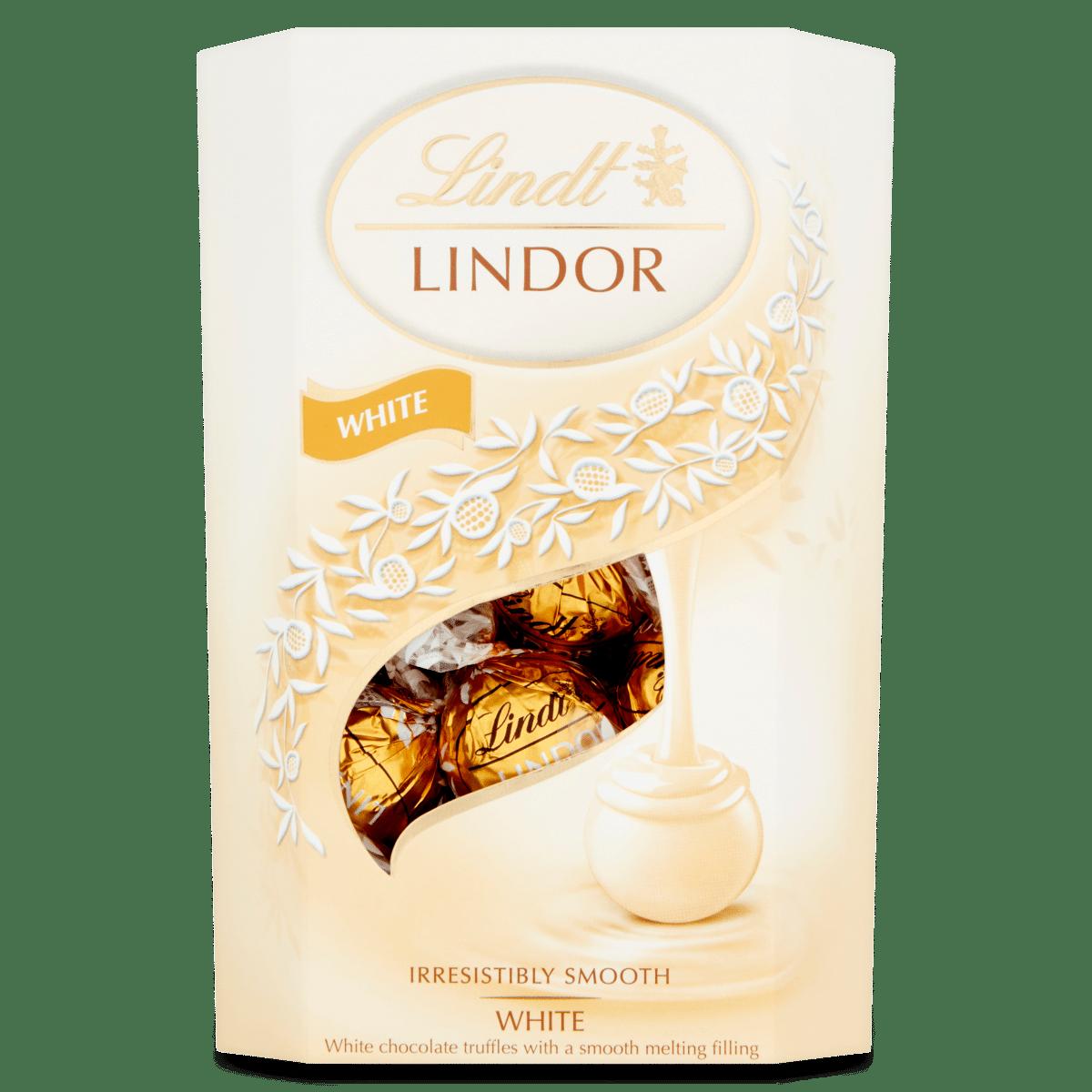 Lindt LINDOR White Chocolate Truffles 200g