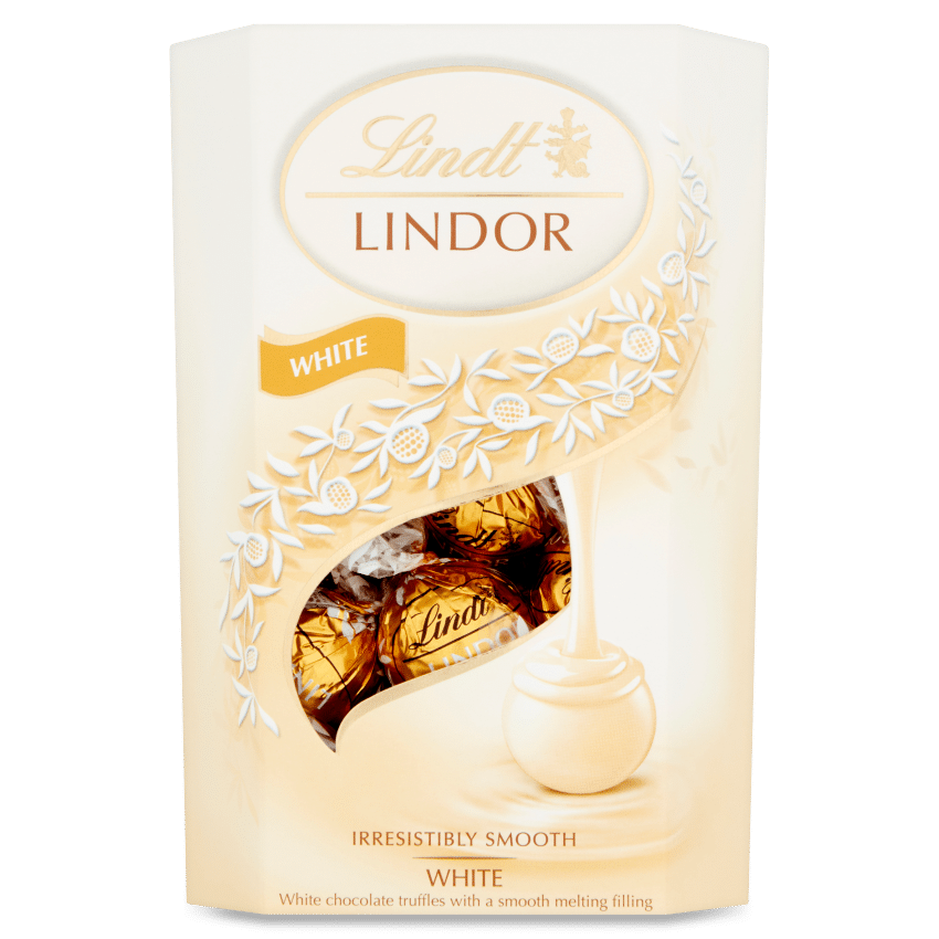 Lindt Lindor White Truffles 200g