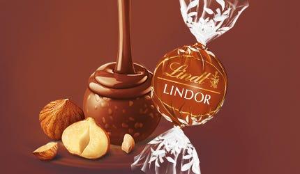 Lindt LINDOR Milk Hazelnut Truffle