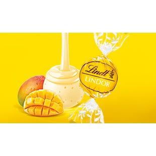 Lindt LINDOR Mango & Cream Truffle