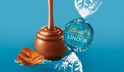 Lindt LINDOR Salted Caramel Milk Truffle