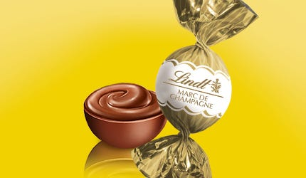 Lindt BOULES Milk Champagne Truffle