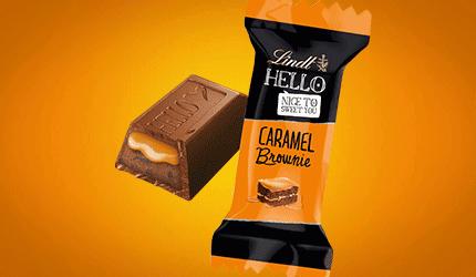 HELLO Caramel & Brownie Mini Stick
