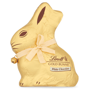 Lindt GOLD BUNNY White 200g - Short Dated Stock*