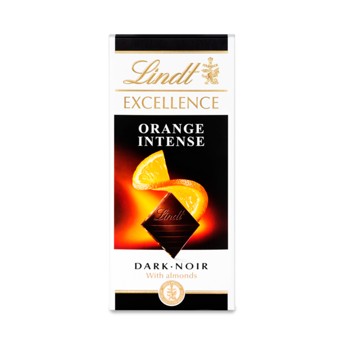 Lindt EXCELLENCE Dark Orange Bar 100g