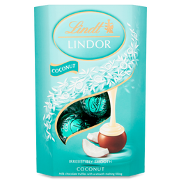 Lindt LINDOR Milk Coconut Chocolate Truffles 200g
