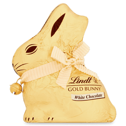 Lindt GOLD BUNNY White 100g