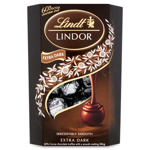 Lindt LINDOR Dark 60% Truffles 200g