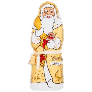 Lindt Santa White Chocolate 125g