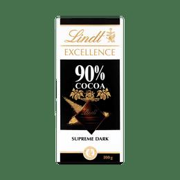 Lindt EXCELLENCE Dark 90% Bar 100g