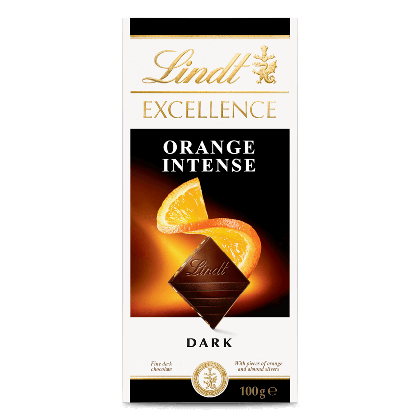 Lindt EXCELLENCE Orange Intense 100g