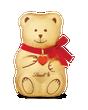 Lindt GOLD TEDDY Milk Chocolate 100g