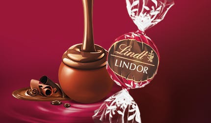 Lindt LINDOR Double Chocolate Truffle