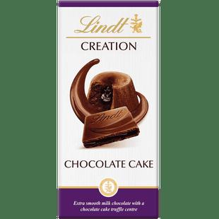 Lindt CREATION Chocolate Cake Bar 150g