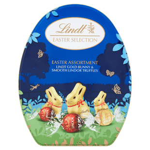 Lindt GOLD BUNNY Egg Tin 330g - Short Dated Stock*