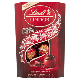 Lindt LINDOR Double Chocolate Truffles 200g