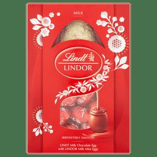 Lindt LINDOR Milk Easter Egg 215g
