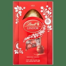 Lindt LINDOR Milk Easter Egg 260g