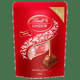 Lindt LINDOR Mini Sticks Pouch Milk 90g