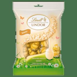 Lindt LINDOR White Mini Eggs 80g