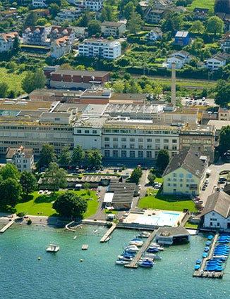 The Lindt head quarters in Switzerland.